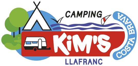 Camping Kim's has the ideal location between Llafranc and Calella de Palafrugell, right in the center of the Costa Brava.