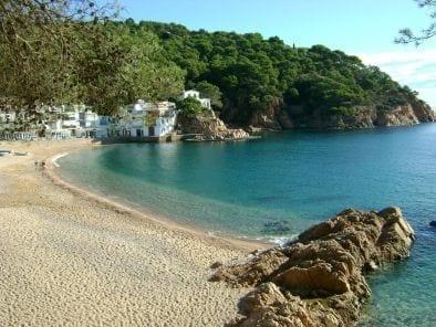 Playa de Tamariu - Palafrugell - Girona Costa Brava
