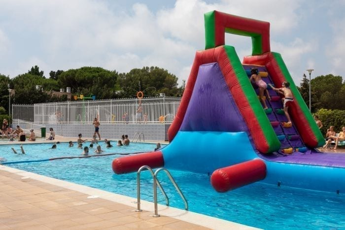 Kim's Camping with swimming pool for children and adults